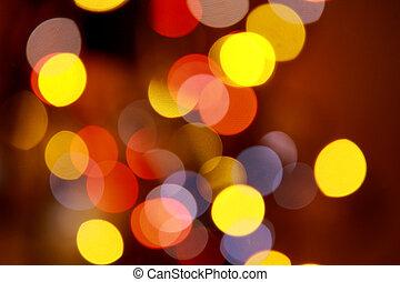 cirkels, kleurrijke, abstract, helder, bokeh, achtergrond