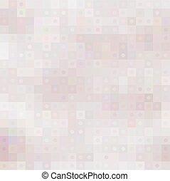 cirkels, pastel, pleinen, mozaïek, achtergrond