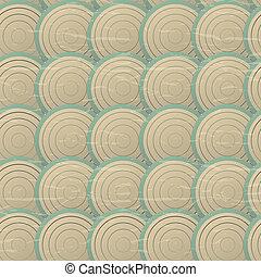 cirklarna, mönster, seamless