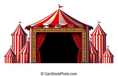cirkus, arrangera