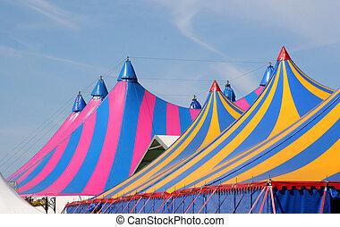cirkus, tält