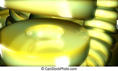cirlce, reflective, glare