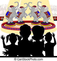 cirque, famille