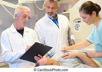 cirurgiões, equipe