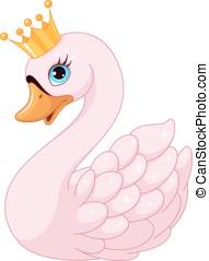 cisne, princesa