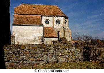 cistercian, roumanie, église, carta