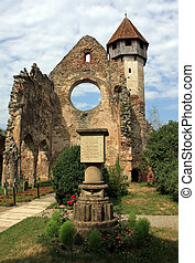 cistercian, ruines, église