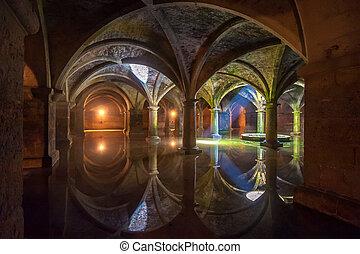 cisterna, el, marruecos, jadida, portugués