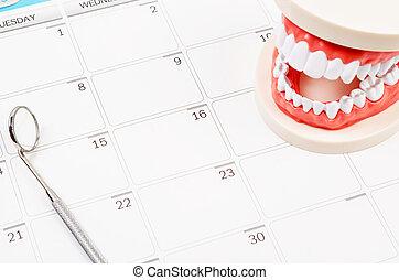 cita dental, concept.