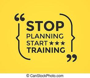 cita, quote., motivación, elemento, vector, inspirador,...