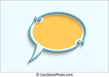 cita, texto, burbuja