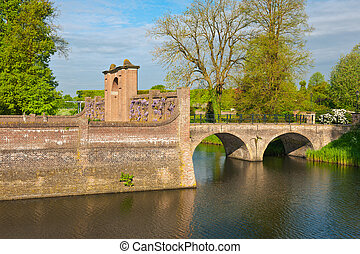 Bridge over the Moat in the early Morning