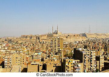 Citadel Cairo - Mohammed Ali Alabaster mosque at Citadel in...