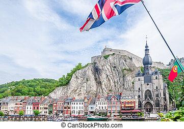 Citadel of Dinant in Belgium