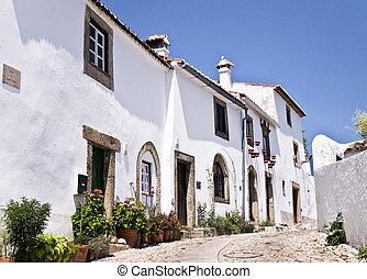 Citadel of Marvao, Portugal - Street of the Citadel of...