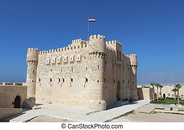 Citadel Qaitbay in Alexandria Egypt