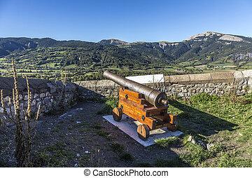 citadel Vauban in Seyne les Alpes in the french Region...