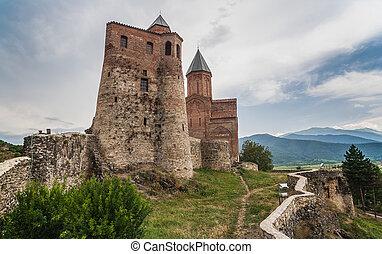 citadelle, gremi, église, royal