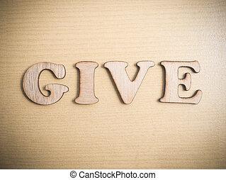 citare, motivazionale, concetto, parole, dare