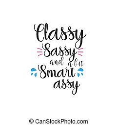 citation, lettrage, sassy, typographie