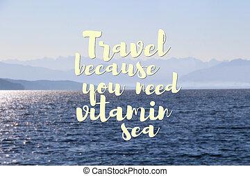 citazione, viaggiare