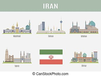 Cities in Iran