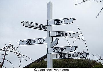 Cities Signage