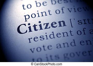 citoyen