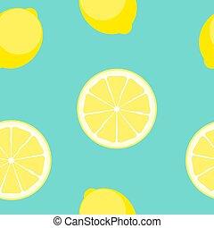 citroen, model, abstract, seamless, illustratie, vector, achtergrond