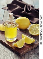 citroen, olie