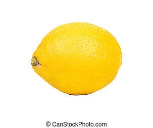 citrom, elszigetelt, gyümölcs