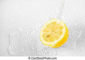 citrom, háttér