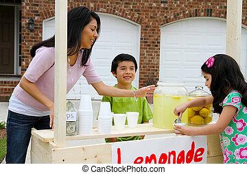 citronáda zastaven