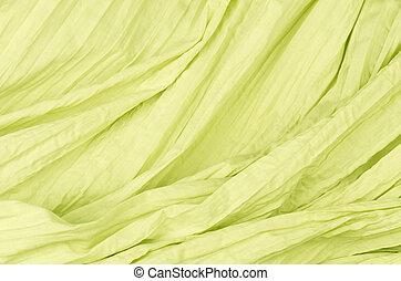 citron color close up cotton texture background