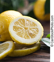 citron, frais, beau