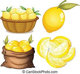 citron, sätta