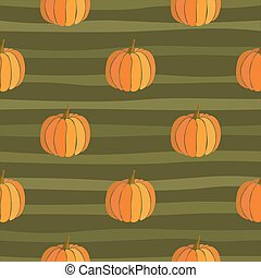 citrouille, pattern., thanksgiving, fond, seamless