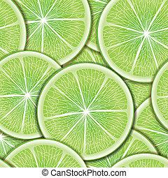 citrus, arrière-plan., seamless