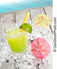 Pearl Tea refreshment - Citrus flavored Pearl Tea ...