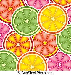citrus, fond