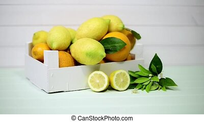 Citrus fresh fruits