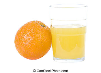 Citrus fruit and orange juice - Naval orange and orange...
