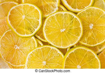 citrus-fruit, fond