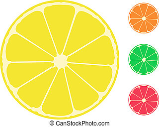 citrus fruit. Orange, lemon, lime, grapefruit