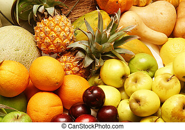 Citrus fruit - Platter of fruit