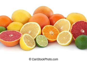 Citrus Fruit Selection