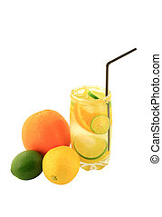 Citrus Fruits Infused Water. - Naturally Flavored Citrus...