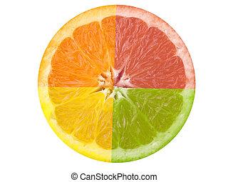 citrus gyümölcsök
