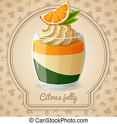 Citrus jelly card