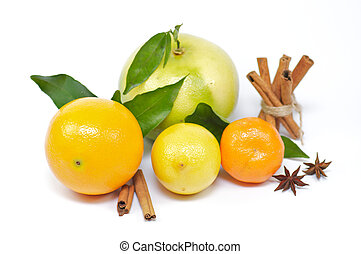 Citrus mix with spices